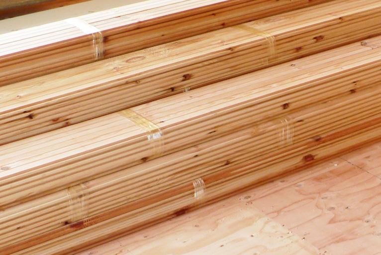 自然素材の家-素材