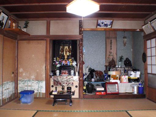 老朽化した日本家屋のリフォーム1