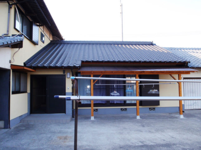 老朽化した日本家屋のリフォーム2