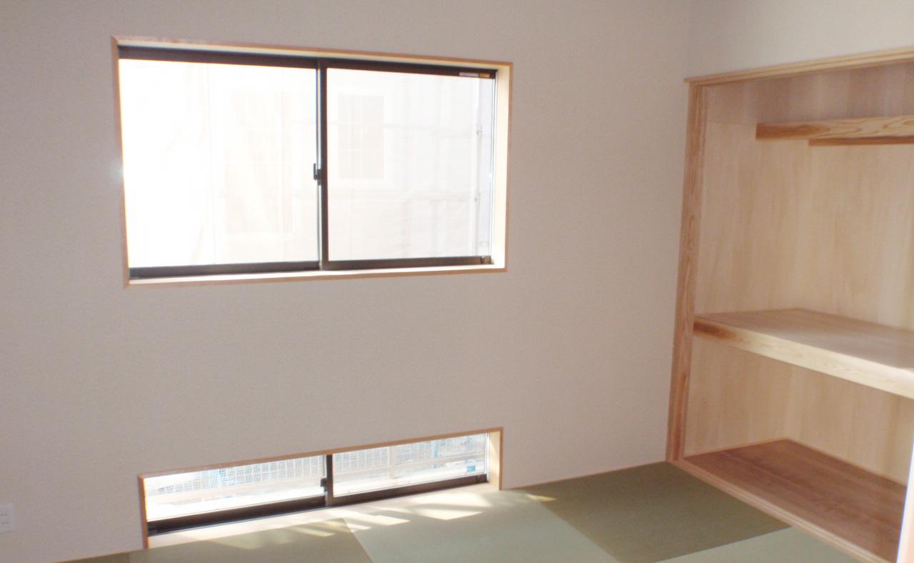 お日様の力を吸収する家-和室
