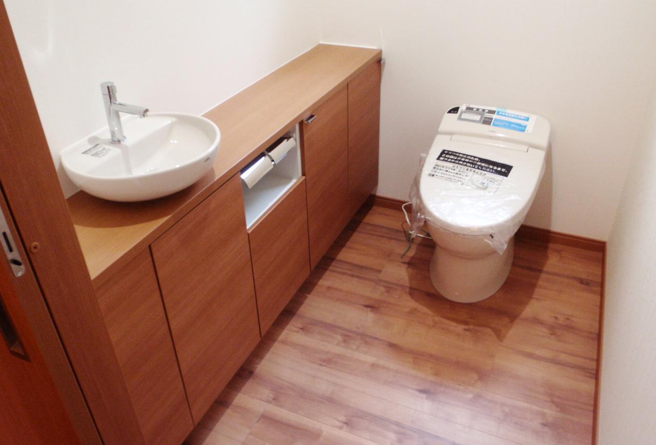 ゆったりとした平屋の家-トイレ