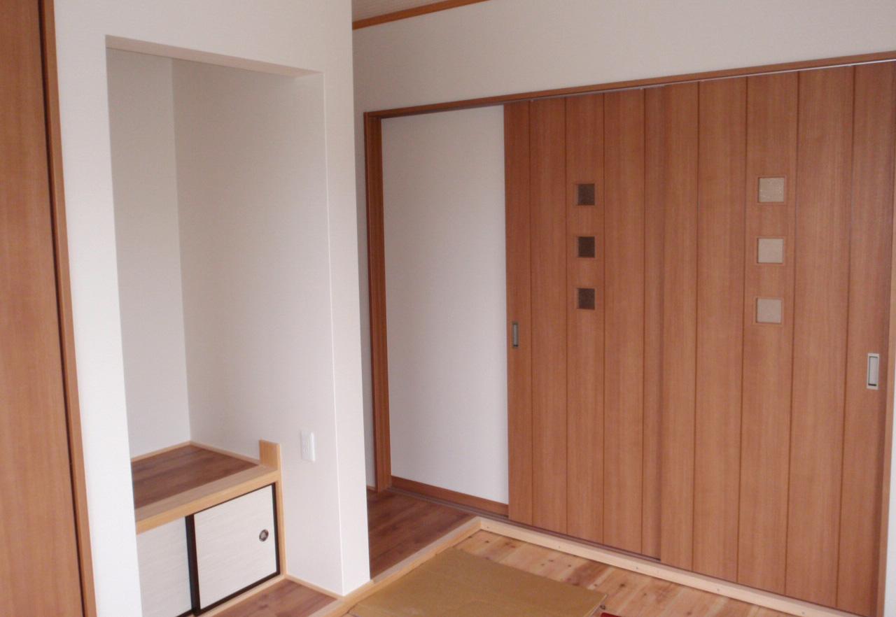 ゆったりとした平屋の家-和室