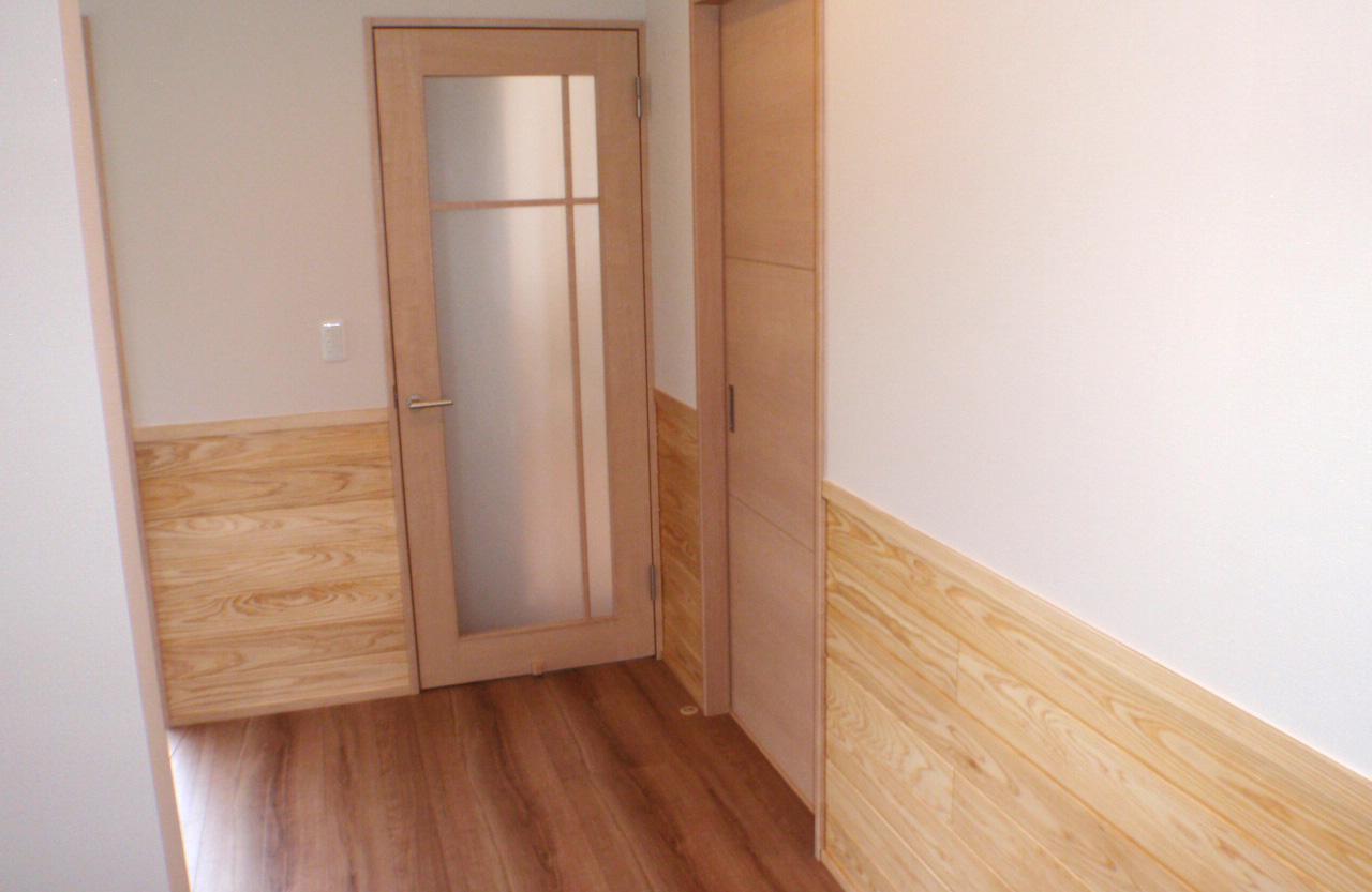 高齢者が住みやすい家-廊下