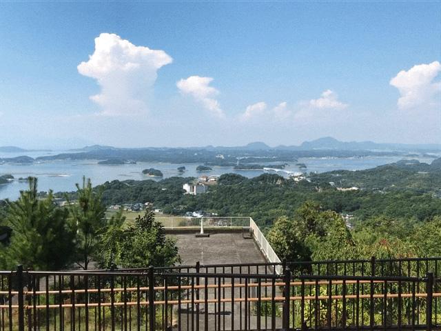 天草絶景展望台からの眺め