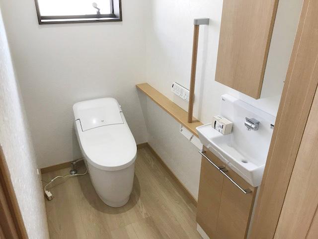 長期優良住宅 耐震等級3の家-トイレ